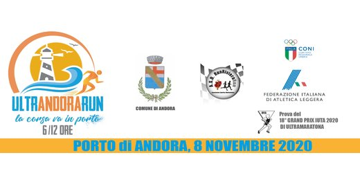 DOMENICA 8 NOVEMBRE - UltrAndoraRun
